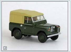 !LR2S006 Land Rover Series II SWB Pritsche/Plane, grün,Oxford 1:76, NEU 6/2019 - Bild vergrößern