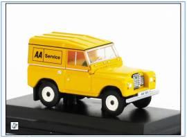!LR3S002 Land Rover Ser.III SWB -Automobile Association-, Oxford 1:76,NEU & - Bild vergrößern