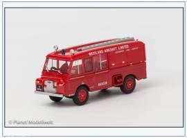 LRC002 Land Rover II 109 Carmichael Fire Tender Westland Aircraft, Oxford 1:76, NEU  - Bild vergrößern