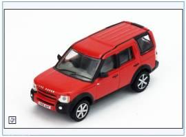 LRD008 Land Rover Discovery 3, Rimini rot metallic, Oxford 1:76, NEU 2/2018 - Bild vergrößern