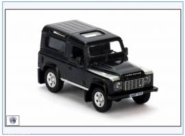 !LRDF006 Land Rover Defender 90, schwarz, Oxford 1:76,NEU 10/2016 - Bild vergrößern