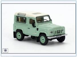 !LRDF007 Land Rover Defender 90, grün,Oxford 1:76,NEU 10/2016 - Bild vergrößern