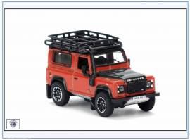 !LRDF008 Land Rover Defender 90, orange,Oxford 1:76,NEU 10/2016 - Bild vergrößern