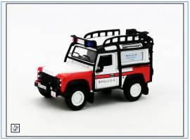 !LRDF011 Land Rover Defender 90 HONG KONG Police -Bomb Disposal-, Oxford 1:76, NEU - Bild vergrößern