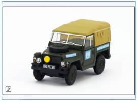 !LRL001 Land Rover 1/2-ton Lightweight British Army UN Mission, Oxford 1:76, NEU - Bild vergrößern