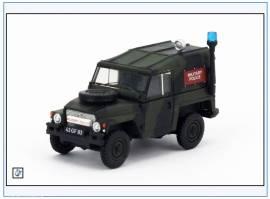 !LRL002 Land Rover 1/2-ton Lightweight British Army Military Police, Oxford 1:76, NEUHEIT 10/2017 - Bild vergrößern