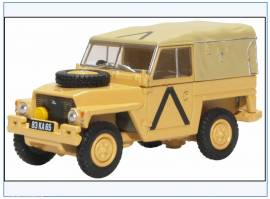 !LRL008 Land Rover 1/2-ton Lightweight British Army, Gulf War 1991, Oxford 1:76, NEU 8/20 - Bild vergrößern