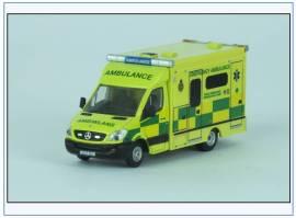 MA001 Daimler Benz Mercedes Welsh Ambulance, Oxford 1:76, NEU  - Bild vergrößern