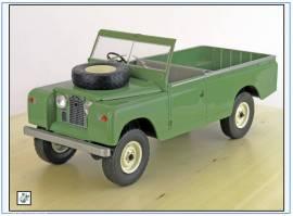 MCG18093 Land Rover Series II LWB Pick-up, helloliv, MCG 1:18, NEU - Bild vergrößern