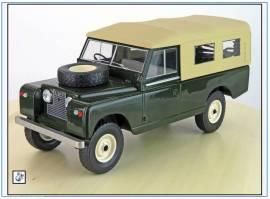 MCG18118 Land Rover Series II LWB Pritsche/Plane,grün,MCG 1:18, NEU - Bild vergrößern