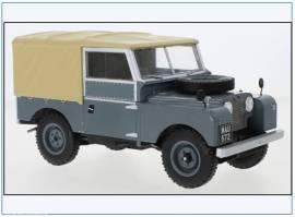 MCG18178 Land Rover Series I SWB Pritsche/Plane,dunkelgrau,MCG 1:18, NEU 7/21 - Bild vergrößern