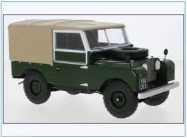 MCG18179 Land Rover Series I SWB Pritsche/Plane,dunkelgrün,MCG 1:18, NEU 7/21 - Bild vergrößern