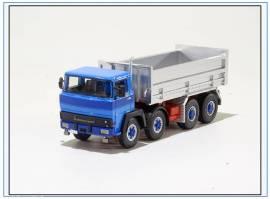 !KHD Magirus 320D30 8x4 Dreiseitenkipper, blau, Golden Oldies 1:50, NEU 10/20 - Bild vergrößern
