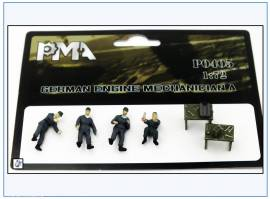 PMA0405 Deutsche Fahrzeugmechaniker,Wehrmacht 2.WK,PMA 1:72,NEU  - Bild vergrößern