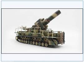 ! PMA0329 Gerät 041 54 cm Mörser Karl, Geschütz -Loki-, 1945, PMA 1:72,NEU 9/21 - Bild vergrößern