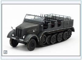 PMA0315 Sd.Kfz.8 DB10 12-to Halbkette Zugmaschine,grau,PMA 1:72,NEU& - Bild vergrößern