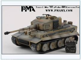 PMA0332 Tiger I s.Pz.Abt. 501, Wagen -111- Rußland 1944, PMA 1:72,NEU - Bild vergrößern