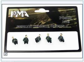 PMA0403 Deutsche Fahrzeugbesatzung (Set A),Wehrmacht 2.WK,PMA 1:72,NEU  - Bild vergrößern