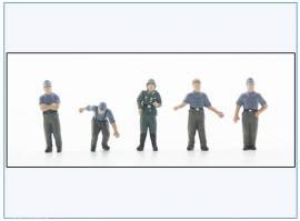 ! PMA0406 bemalte Figuren: Besatzung Mörser Karl, Wehrmacht 2.WK,PMA 1:72,NEU  - Bild vergrößern