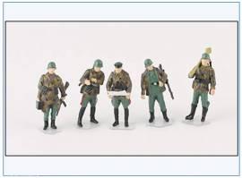 PMA0410 bemalte Figuren: Infanterie, Wehrmacht 2.WK,PMA 1:72,NEU  - Bild vergrößern