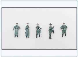 ! PMA0413 bemalte Figuren: Besatzung Mörser Karl, Wehrmacht 2.WK,PMA 1:72,NEU 12/2020 - Bild vergrößern