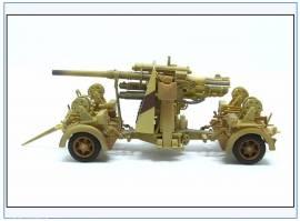 PMA0311  8,8 cm Flak 37, Ausführung 1942,Wüstentarnung, Metallfertigmodell PMA 1:72,NEU - Bild vergrößern