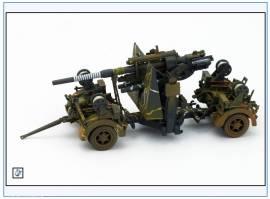 PMA0312  8,8 cm Flak 37, Ausführung 1942, verschmutzt, Metallfertigmodell PMA 1:72,NEU - Bild vergrößern