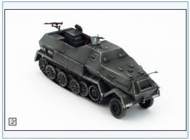 PMA0316 Sd.Kfz.8 DB10 12-to gepanzerte Halbkette Zugmaschine,grau,PMA 1:72,NEU& - Bild vergrößern