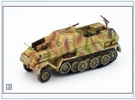 PMA0318 Sd.Kfz.8 DB10 12-to gepanzerte Halbkette Zugmaschine,sand,PMA 1:72,NEU& - Bild vergrößern