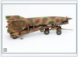 PMA0324 V2-Rakete auf Meillerwagen&Starttisch,Tarnfarben, PMA 1:72,NEU& - Bild vergrößern