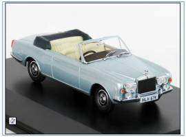 RRC003 Rolls-Royce Corniche Convertible, silber, Oxford 1:43, NEU - Bild vergrößern