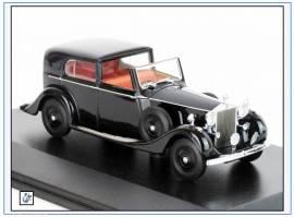RRP3001 Rolls Royce Phantom III, 1936 - 1939, schwarz, Oxford 1:43, NEU - Bild vergrößern