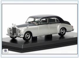 RRP5001 Rolls Royce Phantom V James Young, silber, 1960er, Oxford 1:43, NEU - Bild vergrößern