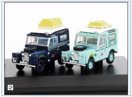 !SET64 Land Rover Ser. I -London - Singapore 1955/56-, Oxford 1:76, NEU 6/2019 - Bild vergrößern