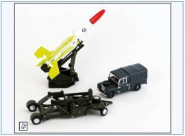 !SET65 Land Rover Ser. I & Bloodhound Rakete, Oxford 1:76, NEU 4/20 - Bild vergrößern