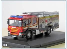 !SFE011 Scania Pumper Ladder Humberside Fire & Rescue, Oxford 1:76,NEU 1/21 - Bild vergrößern