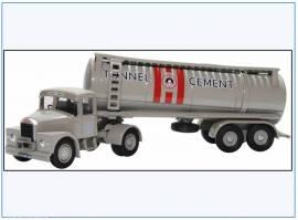 !SHT003 Scammel Highwayman Tanker -Tunnel Cement-,Oxford 1:76, NEU - Bild vergrößern