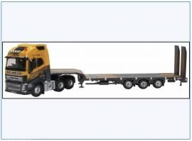 !VOLVO FH4 6x4 & Nooteboom Tieflader -G.F. Job-,Oxford 1:76, NEU 8/2020 - Bild vergrößern