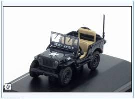 !WMB001 Willys Jeep MB ROYAL NAVY -Beach Master-, Oxford 1:76, NEU 9/2017 - Bild vergrößern