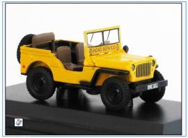 !WMB005 Willys Jeep MB -Automobile Association-, Oxford 1:76,NEU & - Bild vergrößern