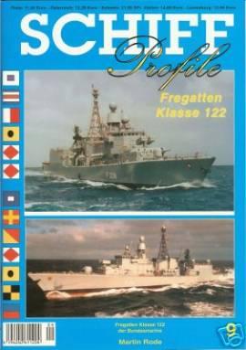 Schiffprofile 09: Fregatten Klasse 122 der Bundesmarine - Bild vergrößern