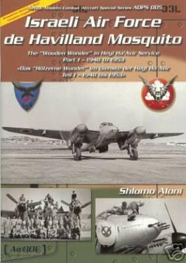 ! ADPS-005 Israeli Air Force Mosquito, Aircraft Documentation - Bild vergrößern
