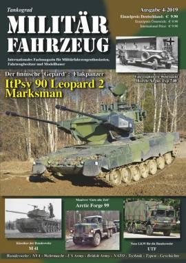 ! 1 Militärfahrzeug Magazin 4/2019, Tankograd, NEU VORBESTELLUNG - Bild vergrößern