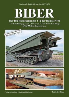 ! 5078 Brückenlegepanzer BIBER, Tankograd, NEU, AUF LAGER - Bild vergrößern