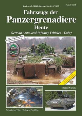 ! 5087 Fahrzeuge der Panzergrenadiere-Heute,Tankograd 11/20 VORBESTELLUNG - Bild vergrößern