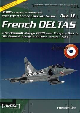 ! ADP011 French Deltas - Mirage 2000 über Europa, AirDoc NEU  - Bild vergrößern