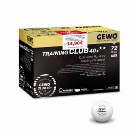 GEWO Ball Training Club 40+** 72er Karton 1B-WARE! Sonderposten - Bild vergrößern