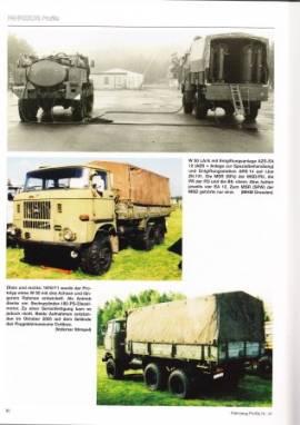 Fahrzeug-Profile 46:Formationen der DDR 1962-1975, Fahrzeuge aus der DDR Produktion - Bild vergrößern