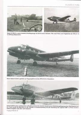 Flugzeug-Profile 50: Siebel Fh 104/Si 204 Varianten - Bild vergrößern