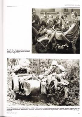 MP-5 Die überschweren Wehrmachtgespanne Zündapp KS750 und BMW R75 - Bild vergrößern